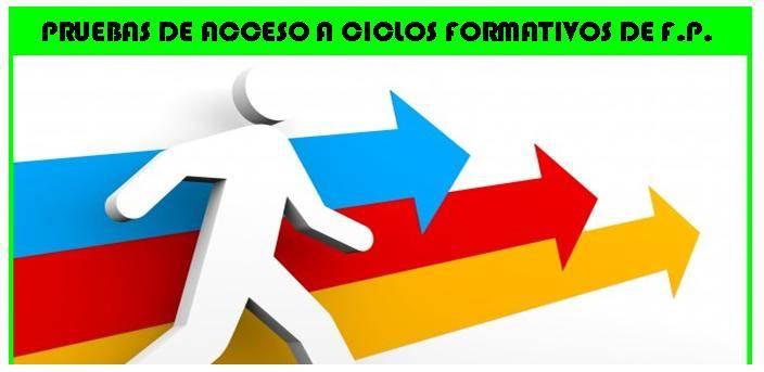 Convocatoria Pruebas De Acceso A Ciclos Formativos De Grado